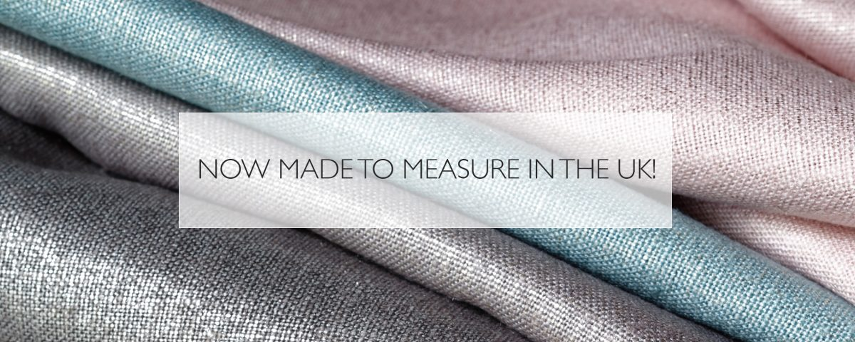 Now made to measure in the UK!